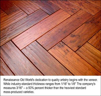 Flooring News Renaissance Old World Inc Introduces Handcrafted