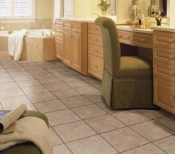 Solid Vinyl Tile Flooring